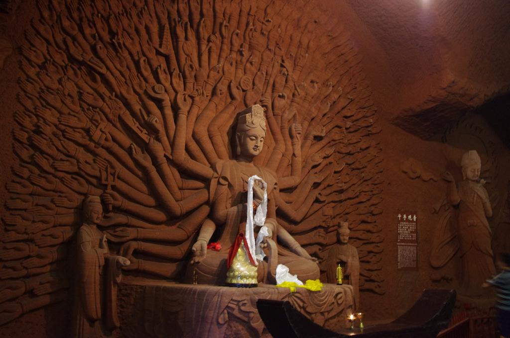 Das Prachtstück des Oriental Buddha Parks