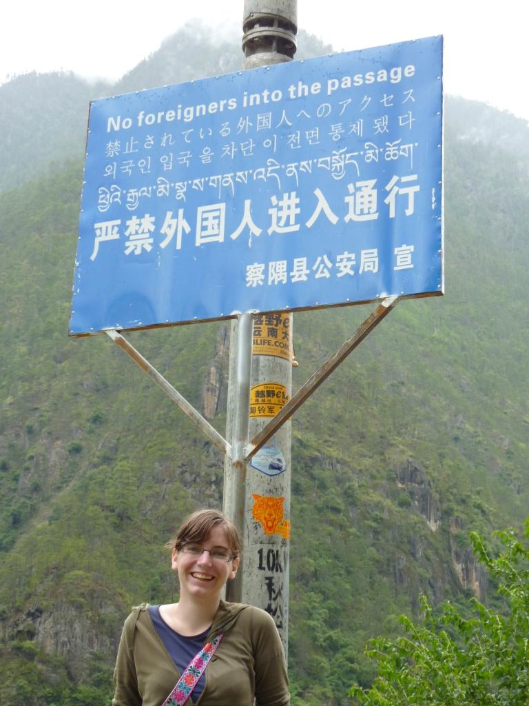 Nadja in Tibet