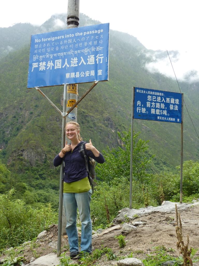 ... und Helen in Tibet :)