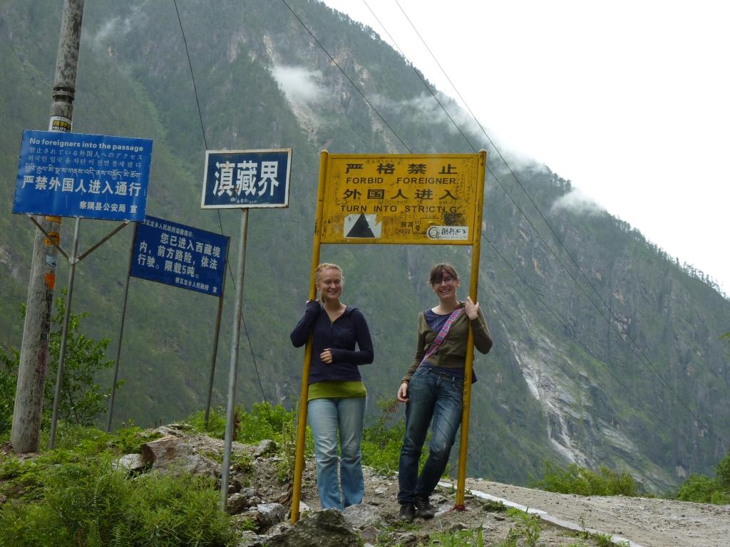 ... beide in Tibet :)